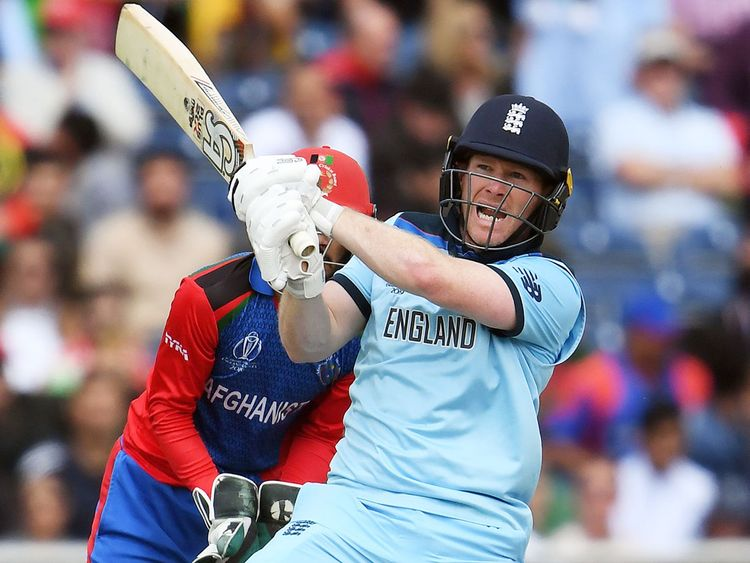 England cricket captain Eoin Morgan world cup winner